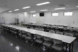 記者控え室